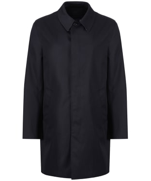 Men's Aquascutum Broadgate Raincoat - Navy