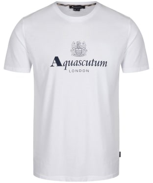 Men's Aquascutum Griffin Crest T-Shirt - White