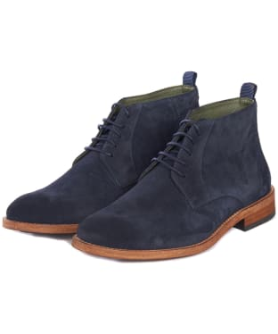 Men's Barbour Benwell Chukka Boot - Navy