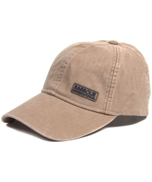 Barbour International Norton Drill Cap - Dark Stone / Beige