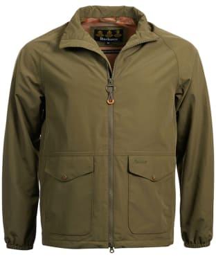 Men's Barbour Dee Waterproof Jacket - Army Green