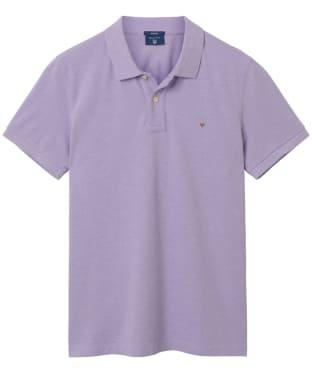 Men's GANT the Original Pique Rugger Polo Shirt - Light Purple Melange
