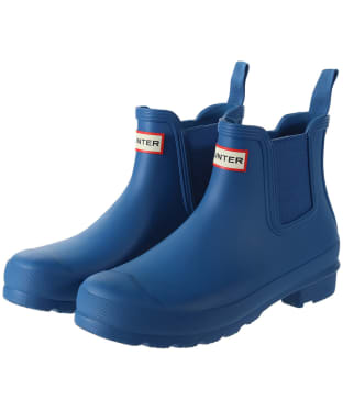 Women's Hunter Original Chelsea Boots - Ocean Blue