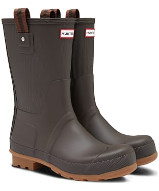 Men's Hunter Original Sissinghurst Short Wellington Boots - Bitter