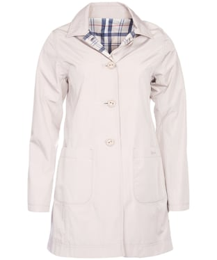Women's Barbour Waterproof Reversible Derby Mac Jacket