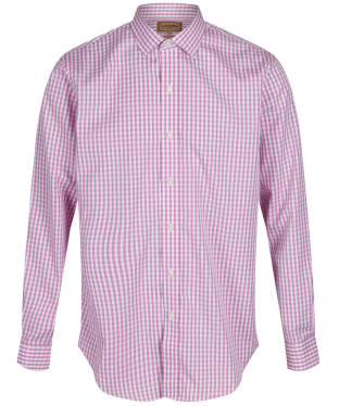 Men's Schoffel Harlington Shirt - Pink Gingham