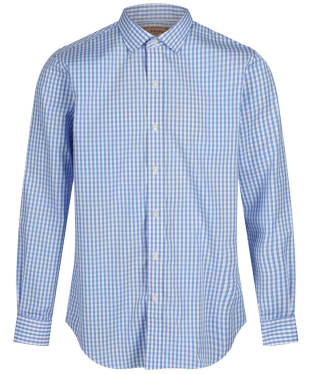 Men's Schoffel Harlington Shirt - Blue Gingham