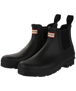 Men's Hunter Original Chelsea Boots - Black