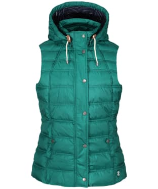 Women's Barbour Westmarch Quilted Gilet - Evergreen