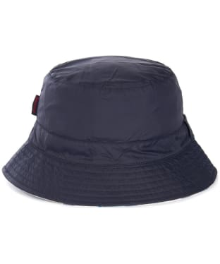 Women's Barbour Shield Waterproof Bucket Hat - Navy