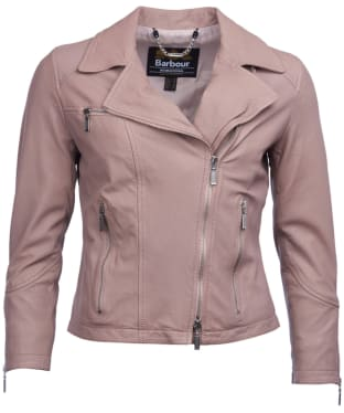 Women's Barbour International Triple Leather Jacket