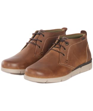 Men's Barbour Collier Chukka Boots - Timber Tan