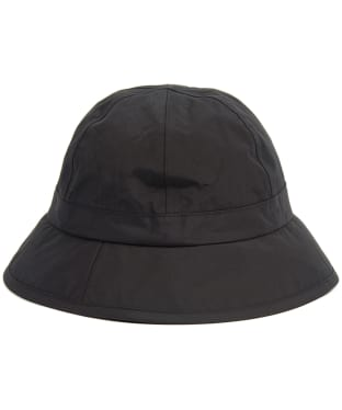 Women's Barbour Blantyre Waterproof Trench Hat - Black