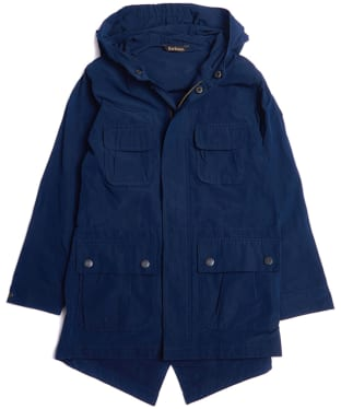 Boy's Barbour International Pack Fishtail Jacket, 2-9yrs - Blue