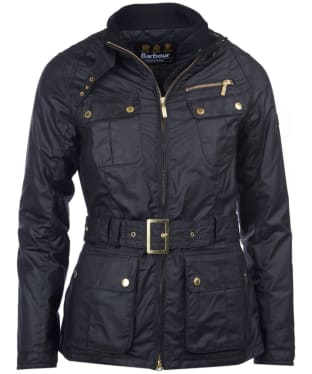 Women's Barbour International Trail Wax Jacket