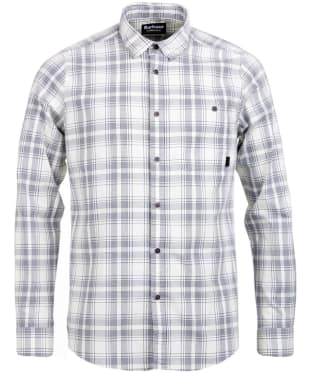 Men's Barbour International Grid Check Shirt - Neutral Check