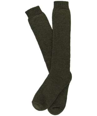 Men's Pennine Poacher Knee High Shooting Socks - Greenacre