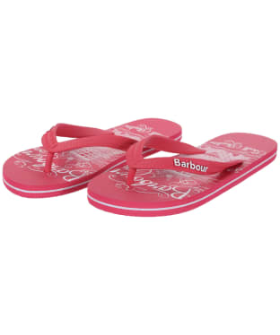Women's Barbour Beach Sandals - Pink