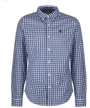 Men's Timberland Suncook River Gingham Shirt - Twilight Blue