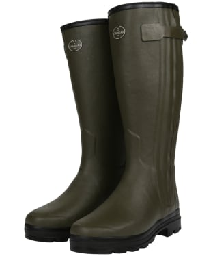 Men's Le Chameau Chasseur Fourree Wellington Boots – 44cm calf