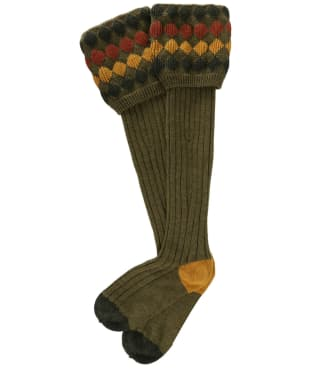 Men's Pennine Kendal Luxe Shooting Socks - Old Sage