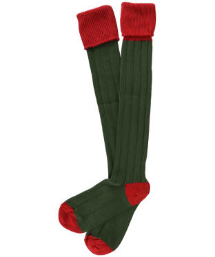 Men's Pennine Pembroke Shooting Socks - Tudor