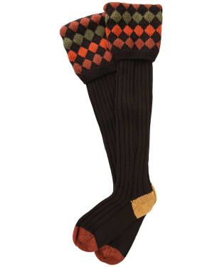 Men's Pennine Kendal Luxe Shooting Socks - Ebony