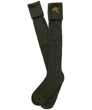 Men's Pennine Stalker Shooting Socks - Olive