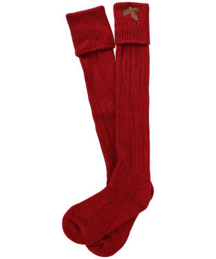 Men's Pennine Stalker Shooting Socks - Red