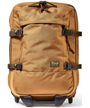 Men's Filson Dryden 2-Wheel Carry On Bag - Whiskey