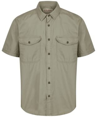 Men's Filson Short Sleeve Field Shirt - Field Green