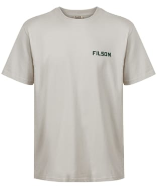 Men's Filson Outfitter Graphic T-Shirt - Pebble Grey