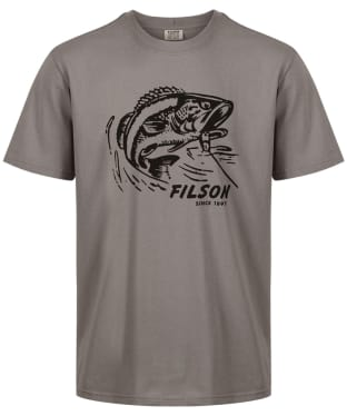 Men's Filson Outfitter Graphic T-Shirt - Steeple Grey