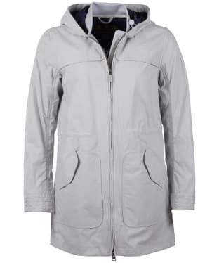 Women's Barbour Marloes Casual Jacket - Ice White
