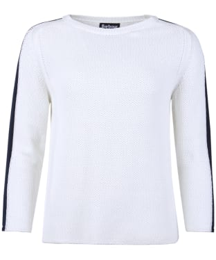 Women's Barbour International Catlina Knitted Sweater - Off White