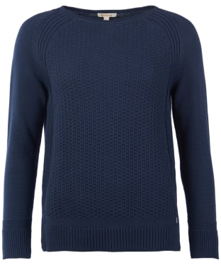 Women's Barbour Bridport Knitted Sweater - Navy