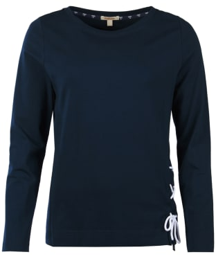 Women's Barbour Lunan Top - Navy