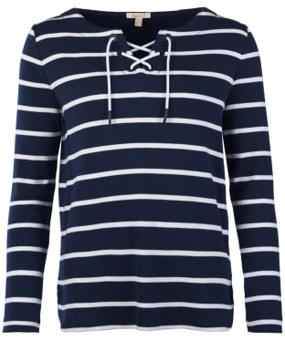 Women's Barbour Watergate Sweater - Navy / White