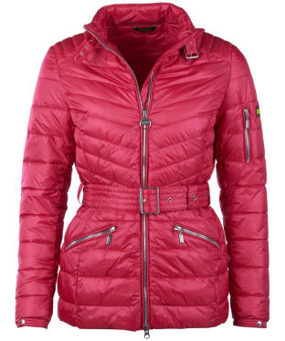 Women's Barbour International Hedemora Quilted Jacket - Grenadine