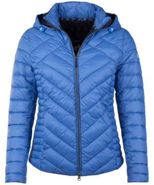Women's Barbour Pentle Quilted Jacket - Shore Blue
