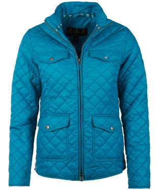 Women's Barbour Formby Quilted Jacket - Sea Glass