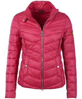 Women's Barbour International Aubern Quilted Jacket - Grenadine
