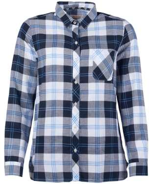 Women's Barbour Foreland Shirt - Navy Check