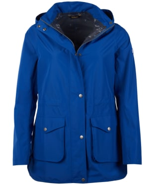 Women's Barbour Studland Waterproof Jacket - Sea Blue