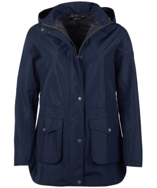 Women's Barbour Studland Waterproof Jacket - Navy