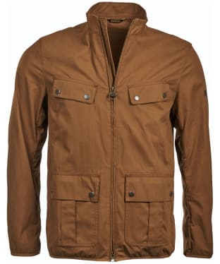 Men's Barbour International Donnington Casual Jacket - Dark Sand