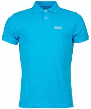 Men's Barbour International Essential Polo - Apex Blue