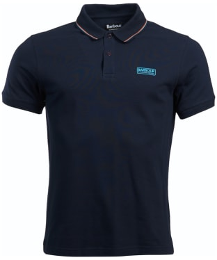 Men's Barbour International Road Polo Shirt - Navy