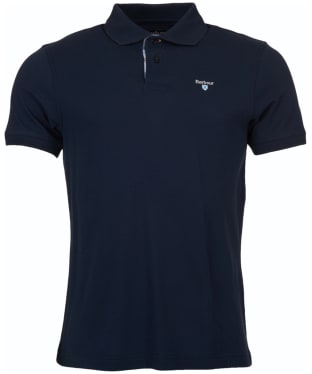 Men's Barbour Bow Polo Shirt - Navy