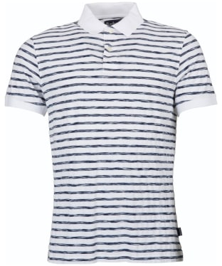 Men's Barbour Galley Polo Pique - White
